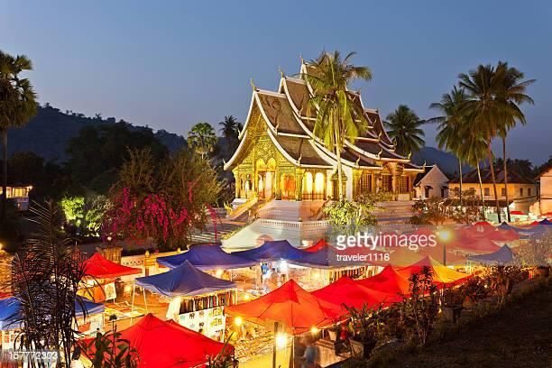 Hmong Night Market In Luang Prabang, Laos