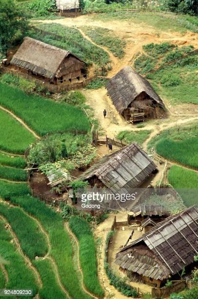 Hmong village in Sapa Vietnam