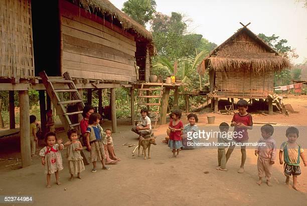 Hmong Women and Children