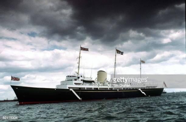 Hmy Britannia At Sea.circa 1990s