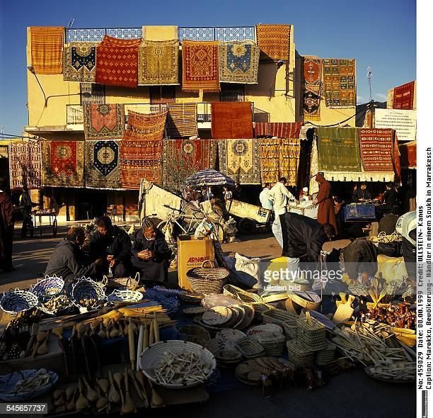Händler in einem Soukh in Marrakesch - 1999