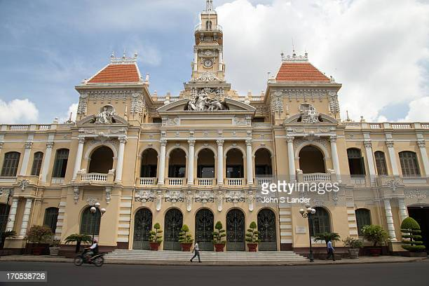Ho Chi Minh City Hall was built in 19021908 in a French colonial style for the then city of Saigon and called Hotel de Ville de Saigon It was renamed...