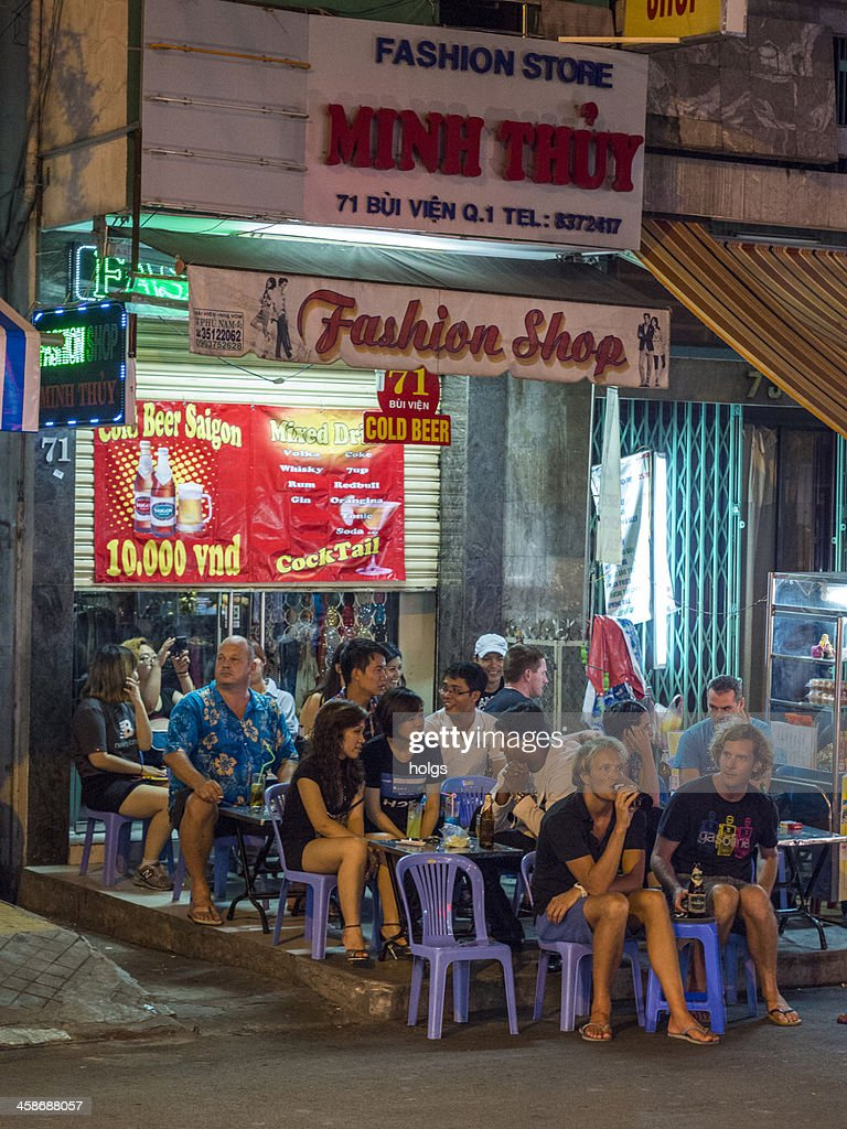 Ho Chi Minh City Nightlife Vietnam High Res Stock Photo Getty Images