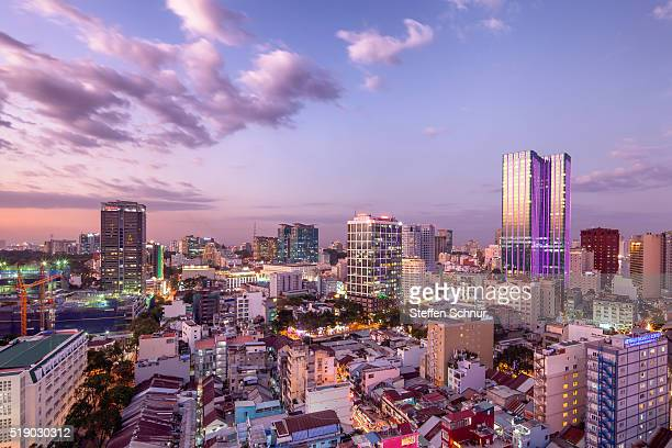 Ho Chi Minh City skyline Saigon