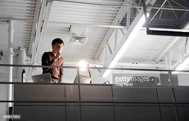 Ho Rui An attends the Swiss Institute launch celebration of Hans Ulrich Obrist's new book Ways Of Curating on November 13 2014 in New York City