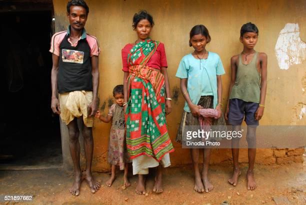 Ho tribes family, Chakradharpur, Jharkhand, India