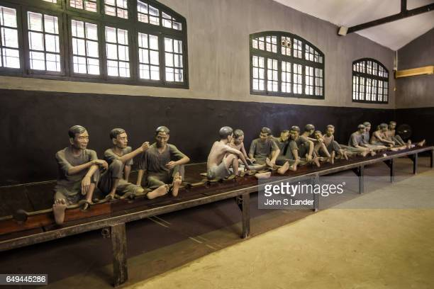 Hoa Loa Prison was originally used by the French colonial system to detain what they considered to be Vietnamese criminals which meant anticolonial...