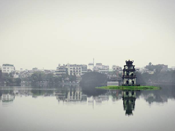 Hoan Kiem Lake In Hanoi Wall Art