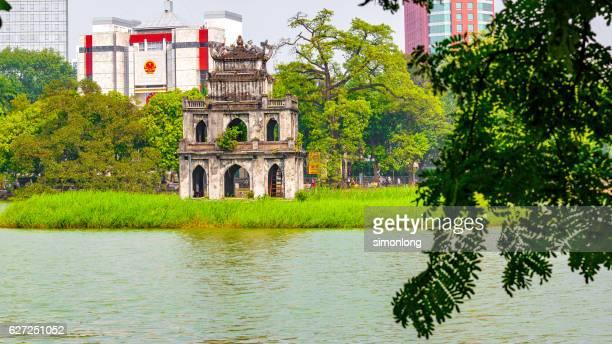 Hoan Kiem Lake, Old Quarter Hanoi, Vietnam