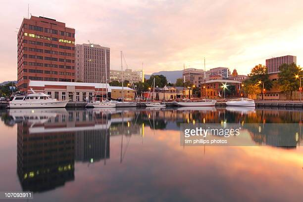 hobart tasmania australia - hobart tasmania stock pictures, royalty-free photos & images