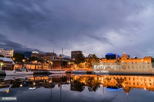 hobart, tasmania, australia - hobart tasmania stock pictures, royalty-free photos & images