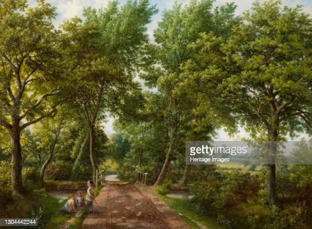 Hobb Moor Road Ford, Birmingham, 1870s. Artist J. Jolly.