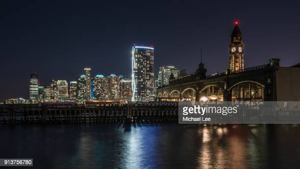 hoboken train station - new jersey - jersey city stock pictures, royalty-free photos & images