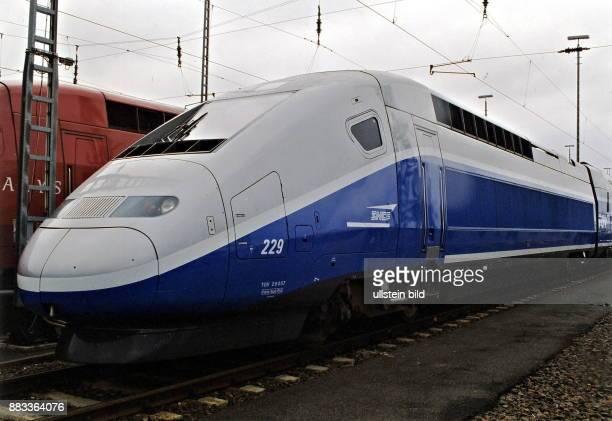 Hochgeschwindigkeitszug TGV Duplex