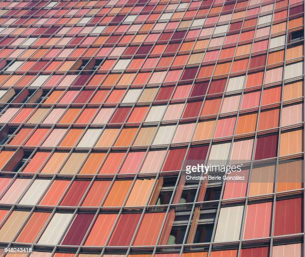 gsw hochhaus - facade - christian beirle stock pictures, royalty-free photos & images