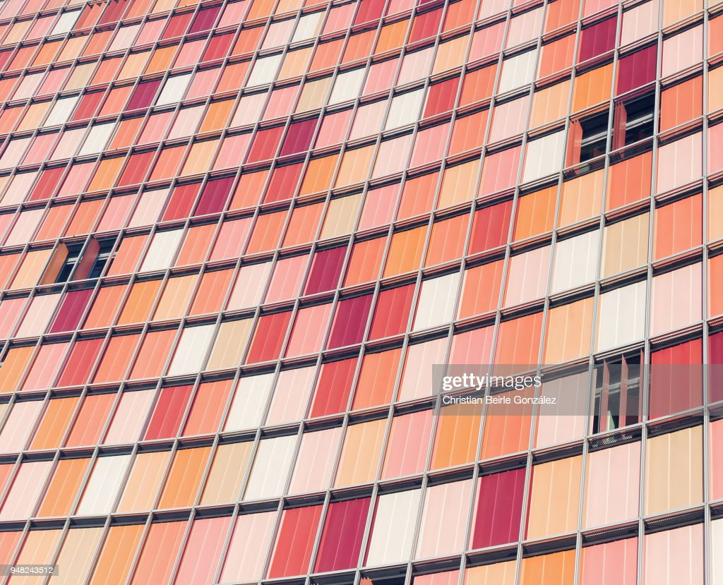 GSW Hochhaus - Facade : Stockfoto