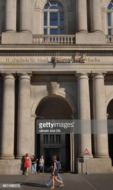 Hochschule für Musik, Hanns Eisler, Schlossplatz, Mitte, Berlin, Deutschland