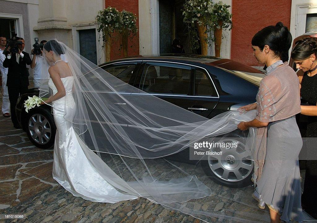 Hochzeit von DJ ; tzi (alias Gerry Friedle, 'Anton aus Tirol'), E : News Photo