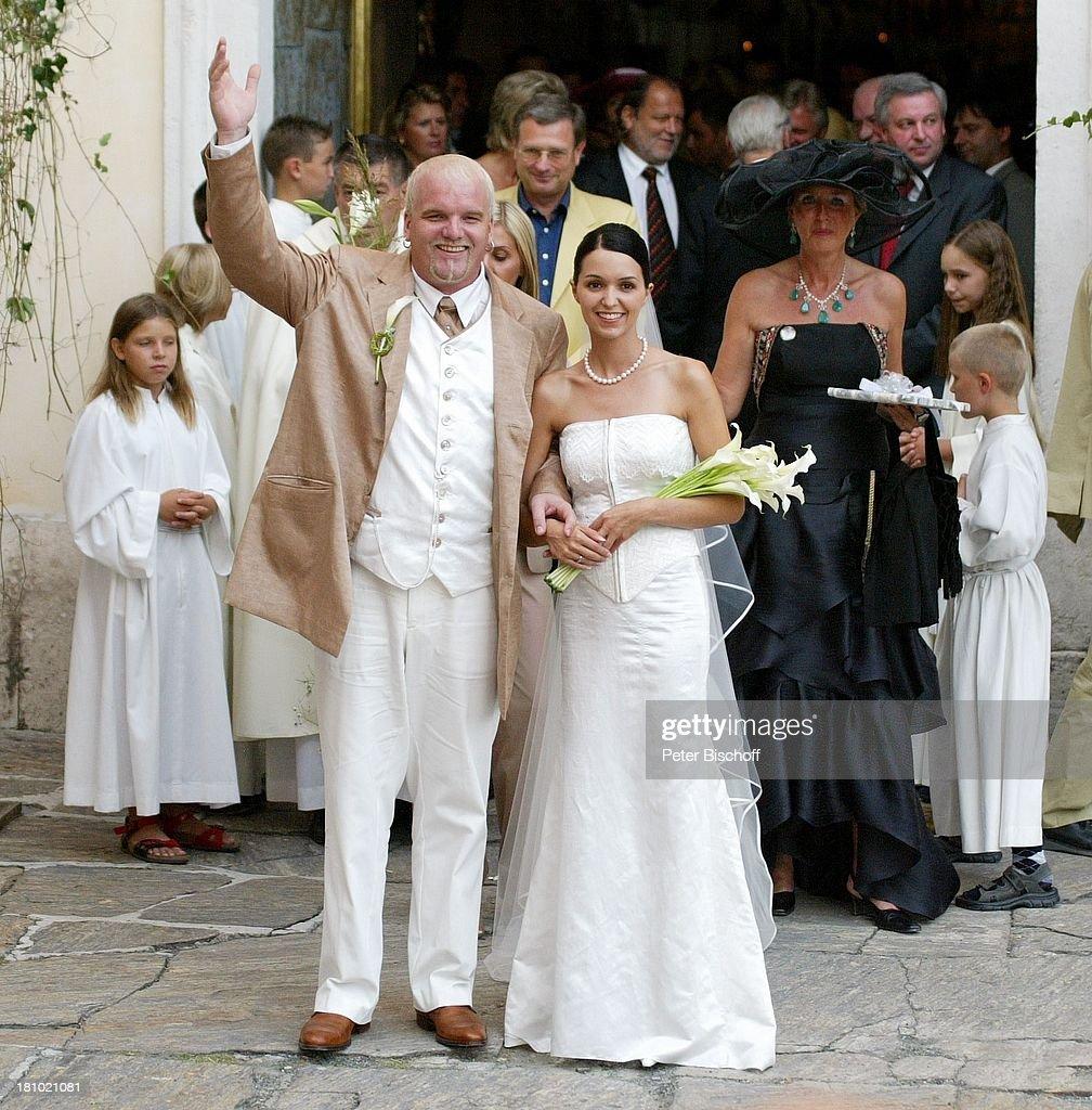 Hochzeit von DJ ; tzi (alias Gerry Friedle, \'Anton aus Tirol\'), E ...