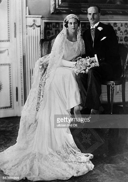 Hochzeit von Prinz Georg Donatus von Hessen mit Prinzessin Caecilie von Griechenland in Darmstadt Hessen 1931
