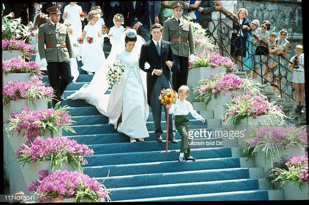 Hochzeit von Prinz Hans-Adam und Marie von Liechtenstein, 1967