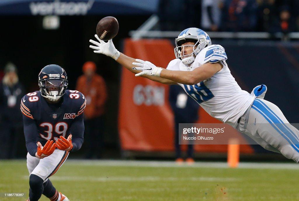 Detroit Lions vChicago Bears : News Photo