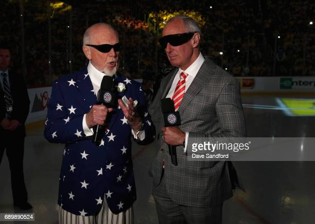 Hocket Night in Canada's Don Cherry and Ron MacLean break down Game One prior to the 2017 NHL Stanley Cup Final between the Nashville Predators and...