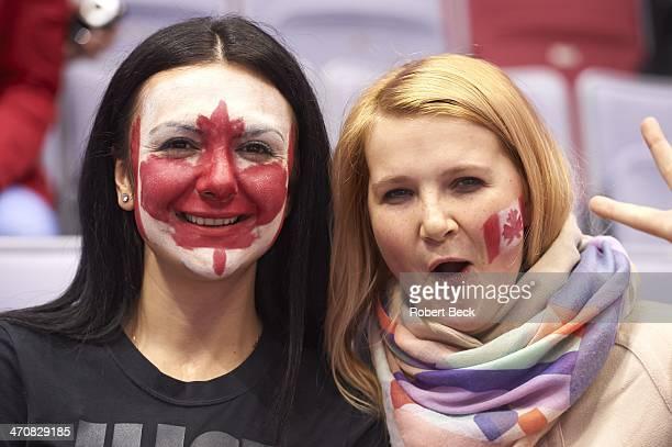 Canada Day Face Paint Premium Pictures Photos Images