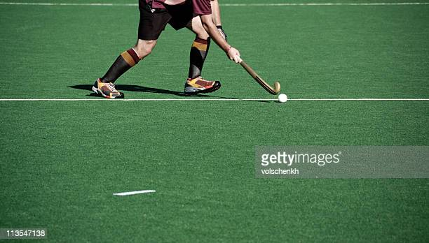 hockey action - field hockey stock pictures, royalty-free photos & images