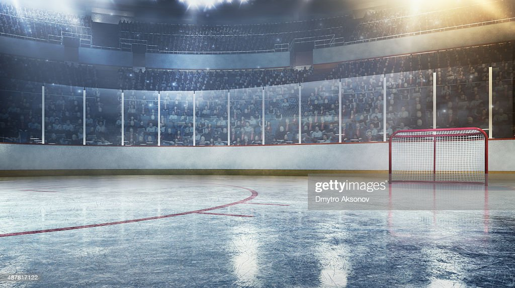 Hockey arena : Foto stock
