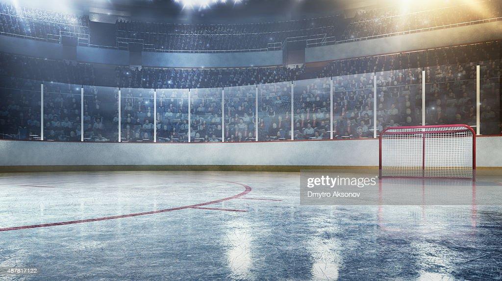 Hockey arena : Stock Photo