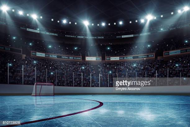 stade de hockey - hockey sur glace photos et images de collection