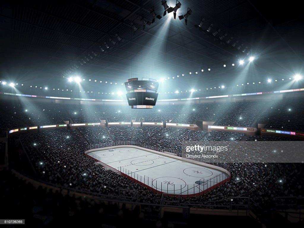 Hockey arena : Stockfoto