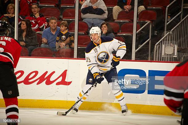 Buffalo Sabres Tim Connolly in action vs New Jersey Devils Newark NJ CREDIT Lou Capozzola