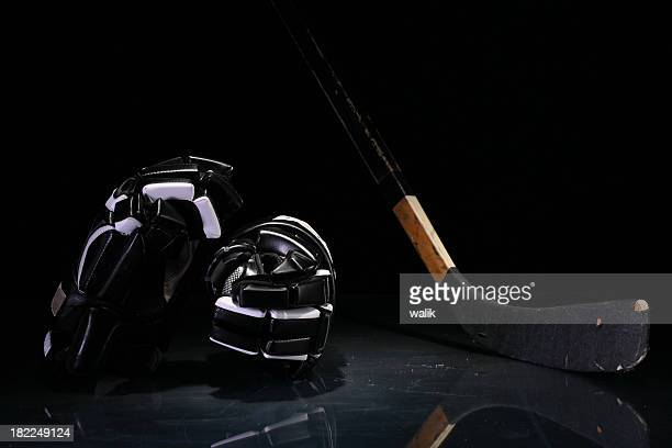 hockey equipment - ice hockey glove stock pictures, royalty-free photos & images