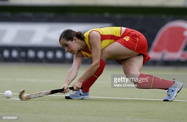 Hockey / Frauen: Vier Nationen Turnier 2004, Hamburg; Deutschland - Spanien ; Mandy HAASE / GER 09.07.04.