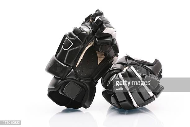 hockey gloves - ice hockey glove stock pictures, royalty-free photos & images