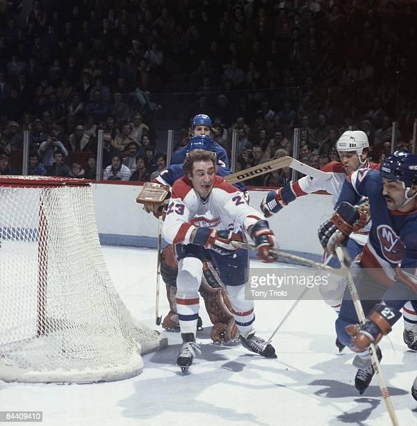Montreal Canadiens Bob Gainey in action vs New York Islanders. Montreal, Canada 12/9/1978 CREDIT: Tony Triolo