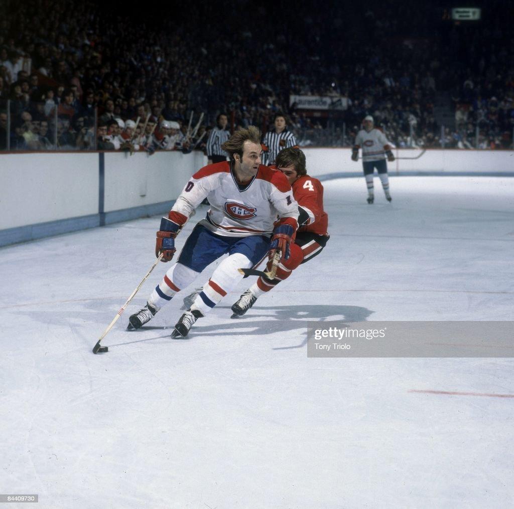 Montreal Canadiens Guy Lafleur... : News Photo