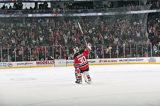 buy online 6a3b4 87a7b New Jersey Devils Goalie Martin Brodeur Pictures | Getty Images