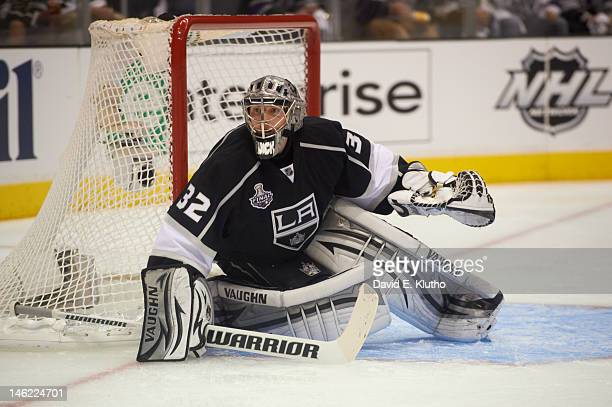 Los Angeles Kings goalie Jonathan Quick in action vs New Jersey Devils at Staples Center. Game 6. Los Angeles, CA 6/11/2012 CREDIT: David E. Klutho