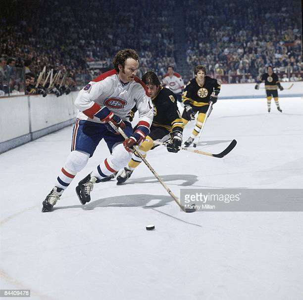 NHL Finals Montreal Canadiens Larry Robinson in action vs Boston Bruins Montreal Canada 5/13/19785/23/1978 CREDIT Manny Millan