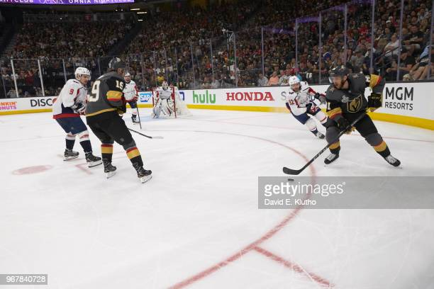 NHL Finals Vegas Golden Knights Jonathan Marchessault in action vs Washington Capitals at TMobile Arena Game 1 Las Vegas NV CREDIT David E Klutho