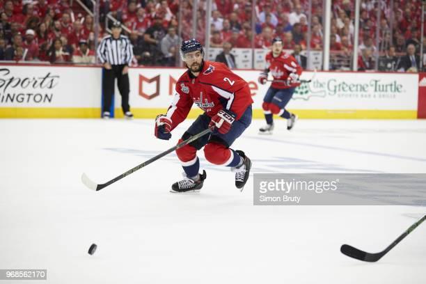 NHL Finals Washington Capitals Matt Niskanen in action vs Vegas Golden Knights at Capital Arena Game 4 Washington DC CREDIT Simon Bruty