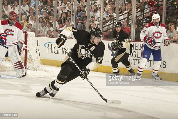 NHL Playoffs Pittsburgh Penguins Evgeni Malkin in action vs Montreal Canadiens Game 2 Pittsburgh PA 5/2/2010 CREDIT Lou Capozzola
