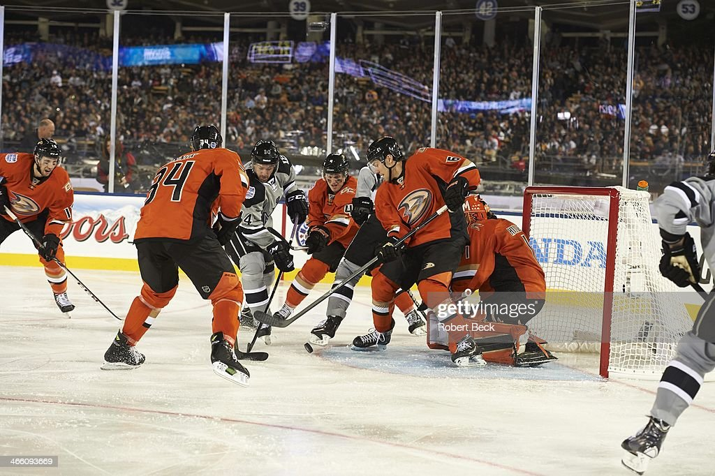 lowest price 3e6a6 de273 Anaheim Ducks ben Lovejoy in action vs Los Angeles Kings at ...