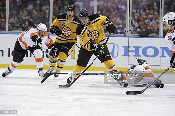 7fb6d14f5 NHL Winter Classic Boston Bruins Michael Ryder in action vs Philadelphia  Flyers at Fenway Park Boston