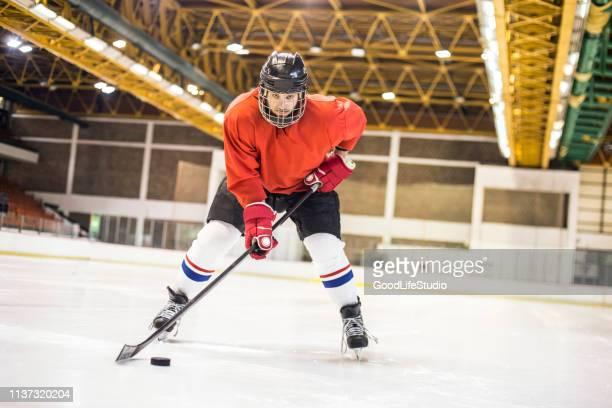 hockey - ice hockey uniform stock pictures, royalty-free photos & images