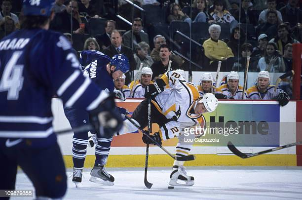 Pittsburgh Penguins Alexei Kovalev in action vs Toronto Maple Leafs at Civic Center Pittsburgh PA 1/28/1998CREDIT Lou Capozzola