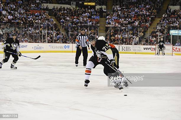 Pittsburgh Penguins Evgeni Malkin in action vs Philadelphia Flyers Pittsburgh PA 1/7/2010 CREDIT Fred Vuich